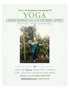 yoga bij ZID