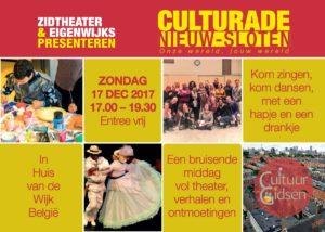 Culturade Nieuw Sloten @ Huis van de Wijk, België | Amsterdam | Noord-Holland | Nederland